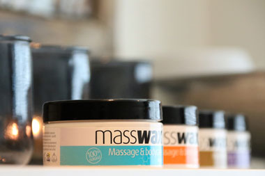 massage wax klein